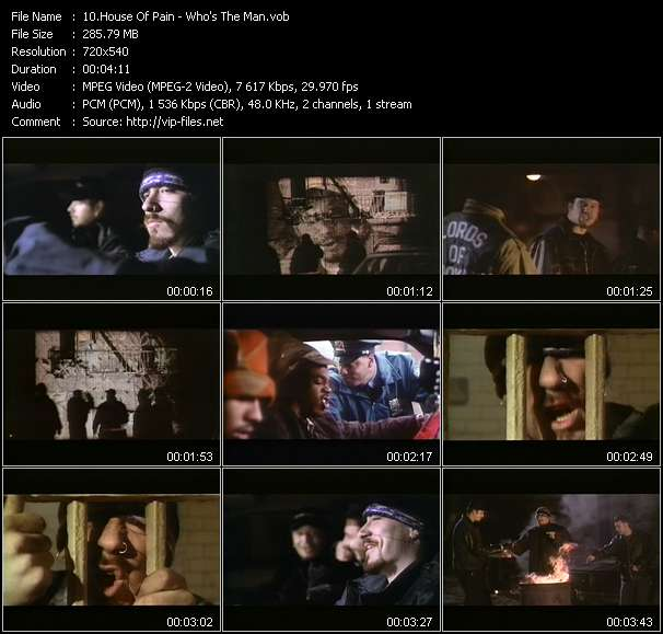 "Screenshot of Music Video House Of Pain - Who's The Man? (From ""Who's The Man?"")"