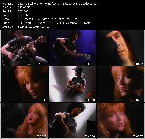 Clint Black With Wynonna (Wynonna Judd) video vob