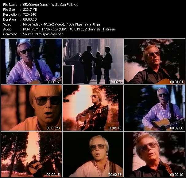 George Jones video vob