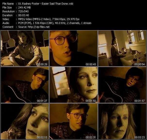 Radney Foster clips musicaux vob