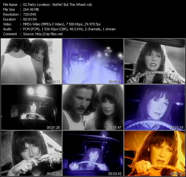 Screenshot of Music Video Patty Loveless - Nothin' But The Wheel