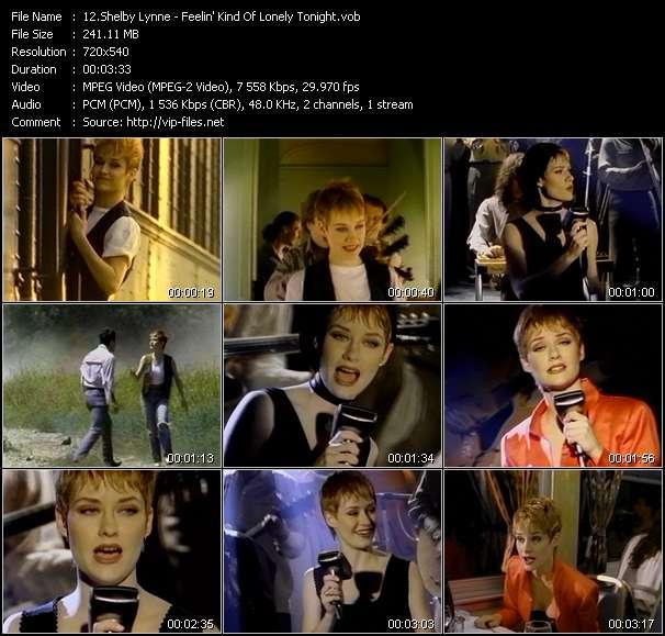 Screenshot of Music Video Shelby Lynne - Feelin' Kind Of Lonely Tonight