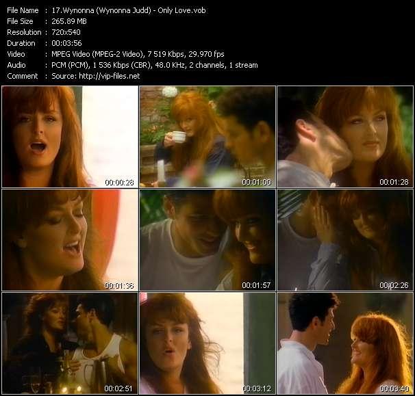 Screenshot of Music Video Wynonna (Wynonna Judd) - Only Love