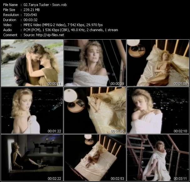 Screenshot of Music Video Tanya Tucker - Soon