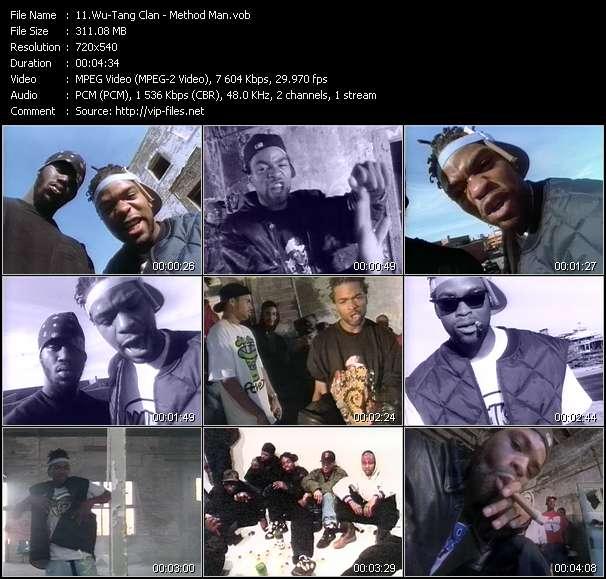 Screenshot of Music Video Wu-Tang Clan - Method Man