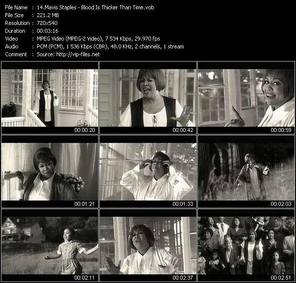 Mavis Staples video vob