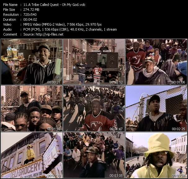 A Tribe Called Quest video vob