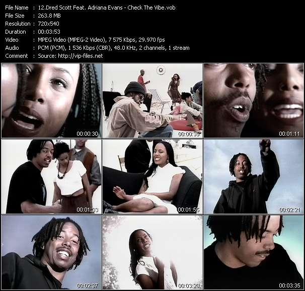 Dred Scott Feat. Adriana Evans video vob