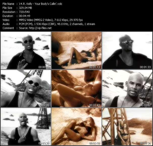 R. Kelly видеоклип vob