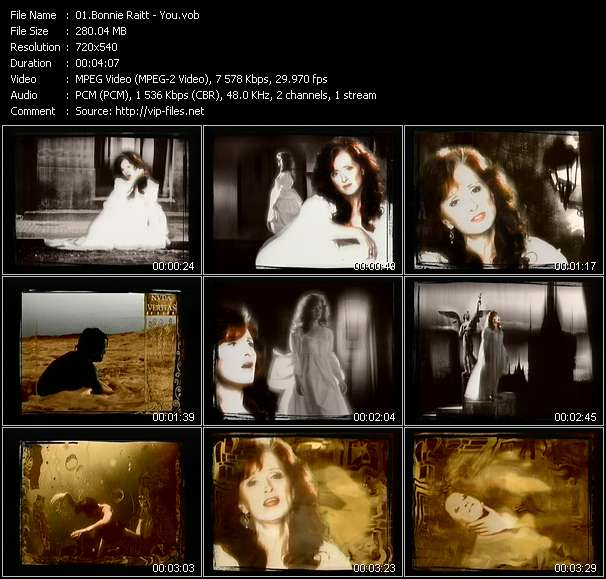 Screenshot of Music Video Bonnie Raitt - You