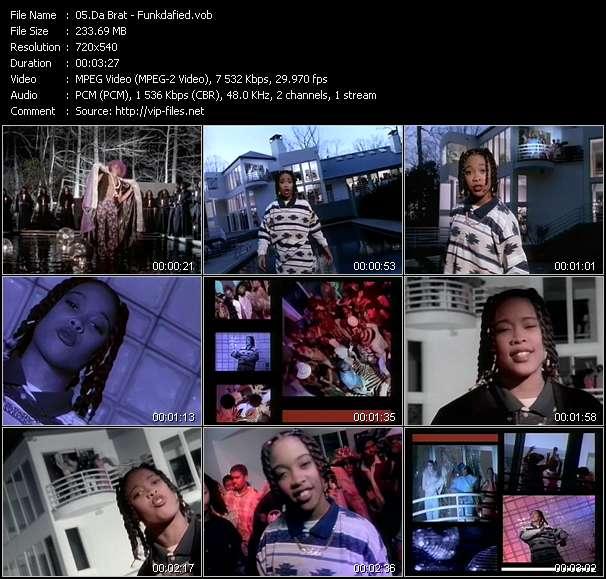Screenshot of Music Video Da Brat - Funkdafied