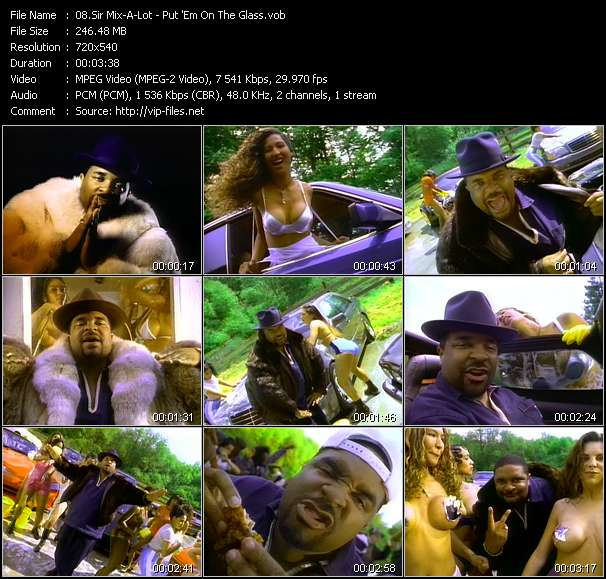 Sir Mix-A-Lot clips musicaux vob