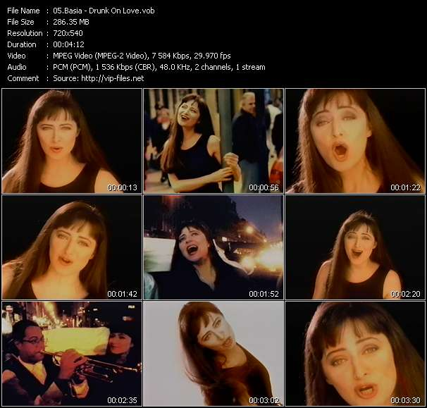 Screenshot of Music Video Basia - Drunk On Love