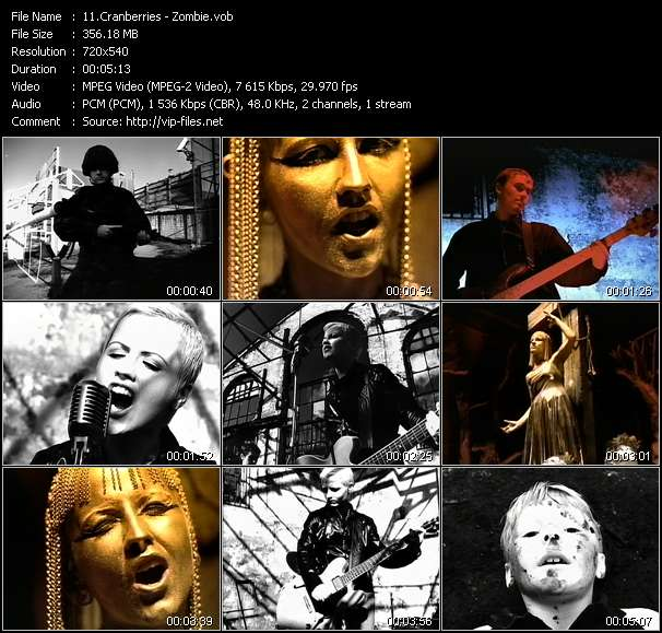 Cranberries video vob