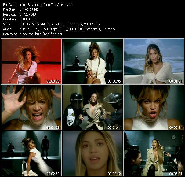 Screenshot of Music Video Beyonce - Ring The Alarm