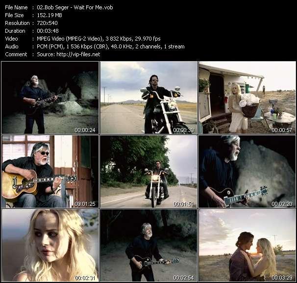 Screenshot of Music Video Bob Seger - Wait For Me