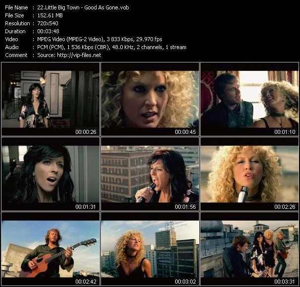 Screenshot of Music Video Little Big Town - Good As Gone