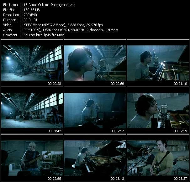 Screenshot of Music Video Jamie Cullum - Photograph