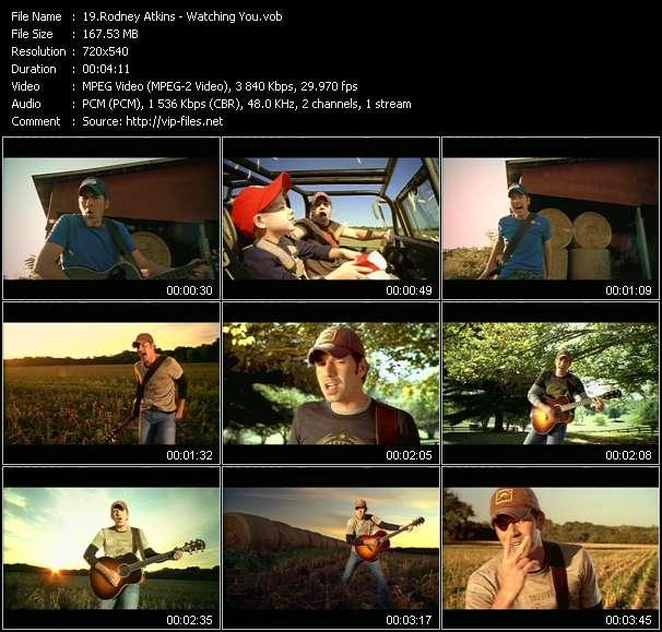 Screenshot of Music Video Rodney Atkins - Watching You