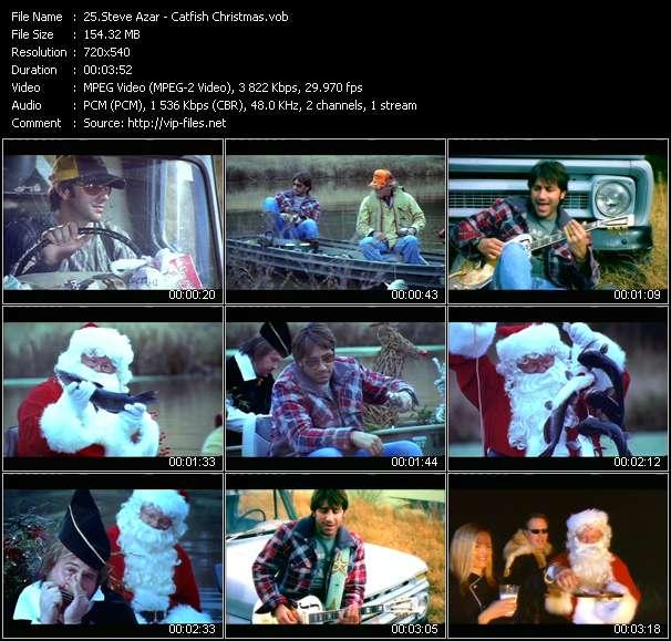 Screenshot of Music Video Steve Azar - Catfish Christmas