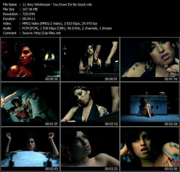 Amy Winehouse video vob