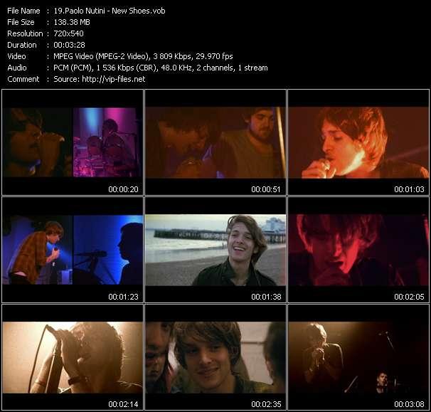 Screenshot of Music Video Paolo Nutini - New Shoes