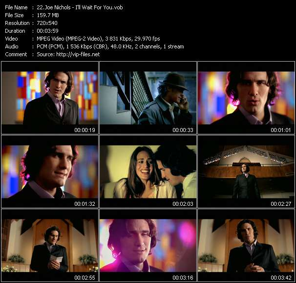 Joe Nichols video vob