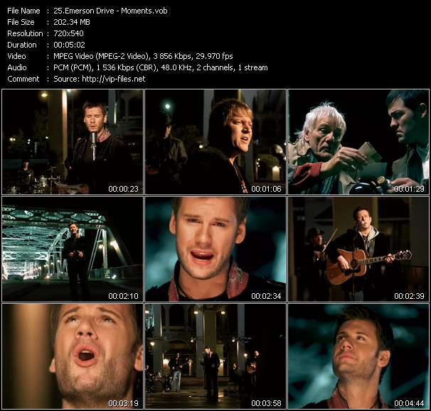 Emerson Drive video vob