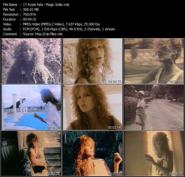 Screenshot of Music Video Rosie Vela - Magic Smile