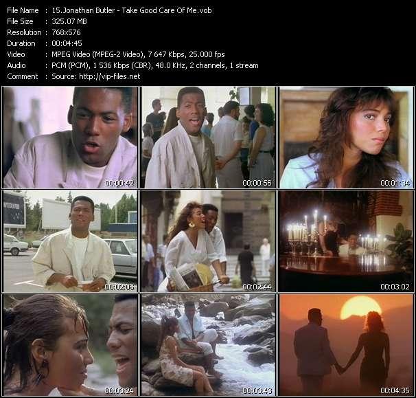 Screenshot of Music Video Jonathan Butler - Take Good Care Of Me