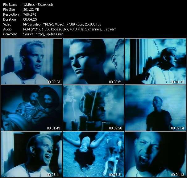 Screenshot of Music Video Bros - Sister