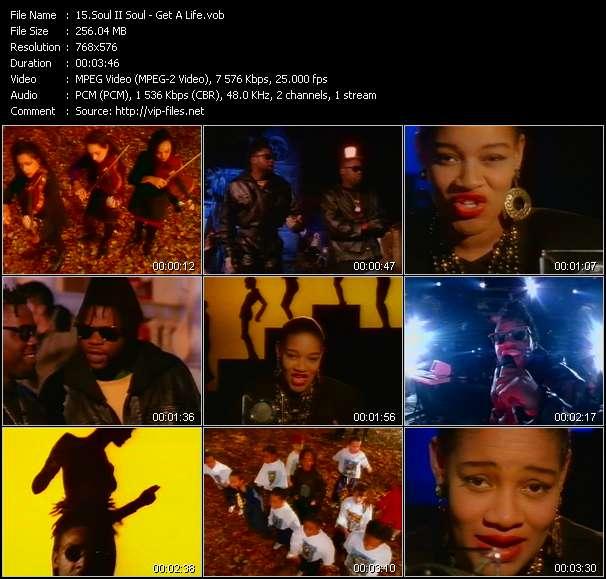 Screenshot of Music Video Soul II Soul - Get A Life