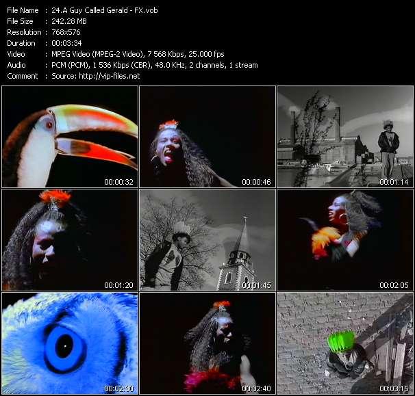 Screenshot of Music Video A Guy Called Gerald - FX