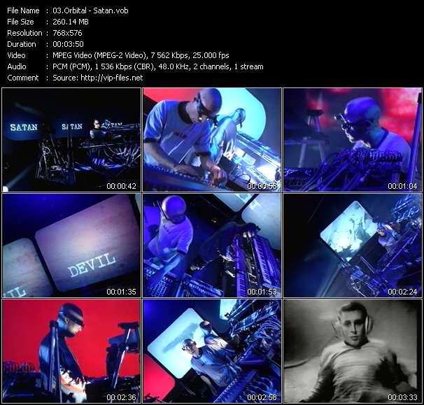 Screenshot of Music Video Orbital - Satan