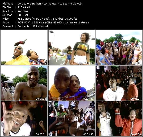 """Screenshot of Music Video Outhere Brothers - Let Me Hear You Say """"Ole Ole"""""""