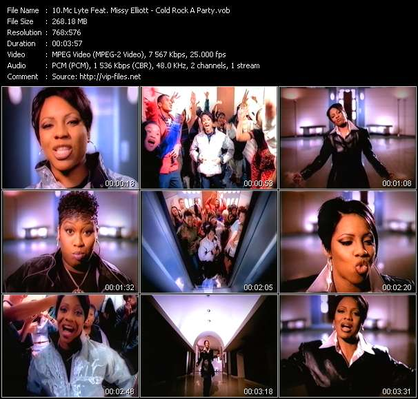 Mc Lyte Feat. Missy Elliott video vob