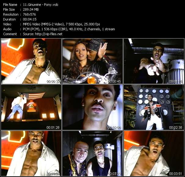 Screenshot of Music Video Ginuwine - Pony