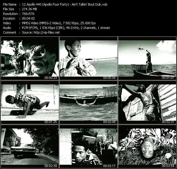 Screenshot of Music Video Apollo 440 (Apollo Four Forty) - Ain't Talkin' Bout Dub