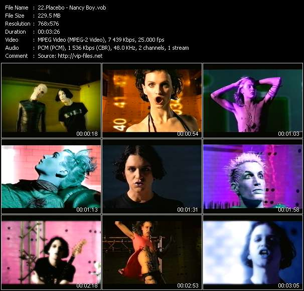 Placebo video vob