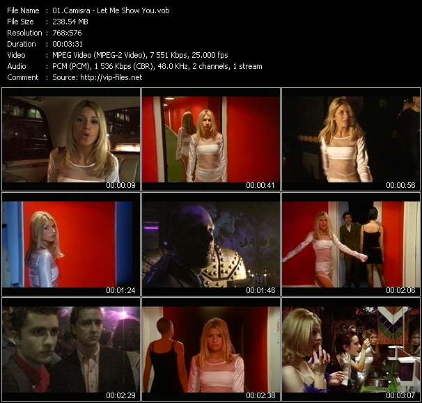 Screenshot of Music Video Camisra - Let Me Show You