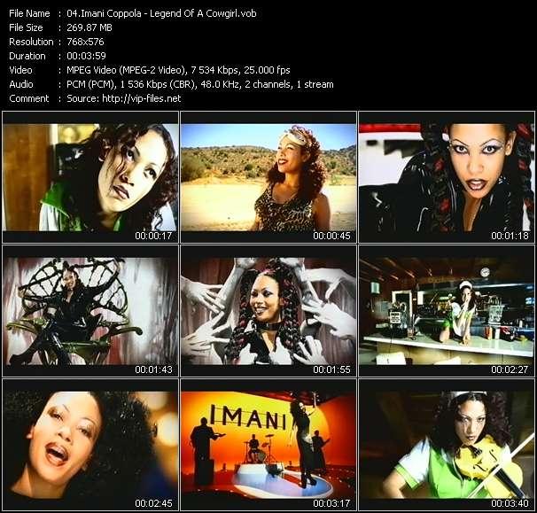 Screenshot of Music Video Imani Coppola - Legend Of A Cowgirl