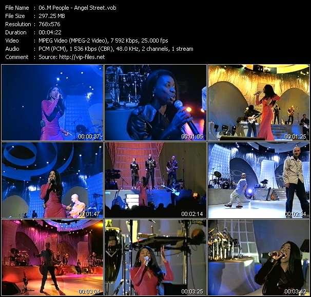 Screenshot of Music Video M People - Angel Street