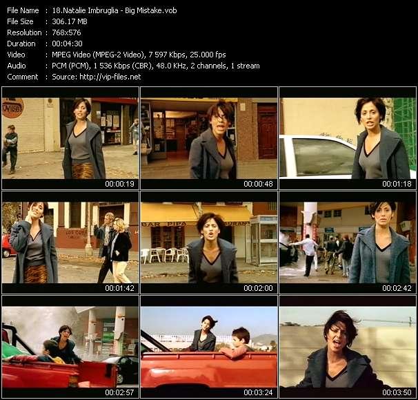 Screenshot of Music Video Natalie Imbruglia - Big Mistake