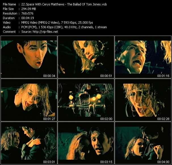 Screenshot of Music Video Space With Cerys Matthews - The Ballad Of Tom Jones