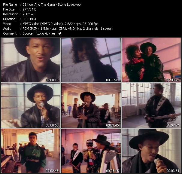 Screenshot of Music Video Kool And The Gang - Stone Love