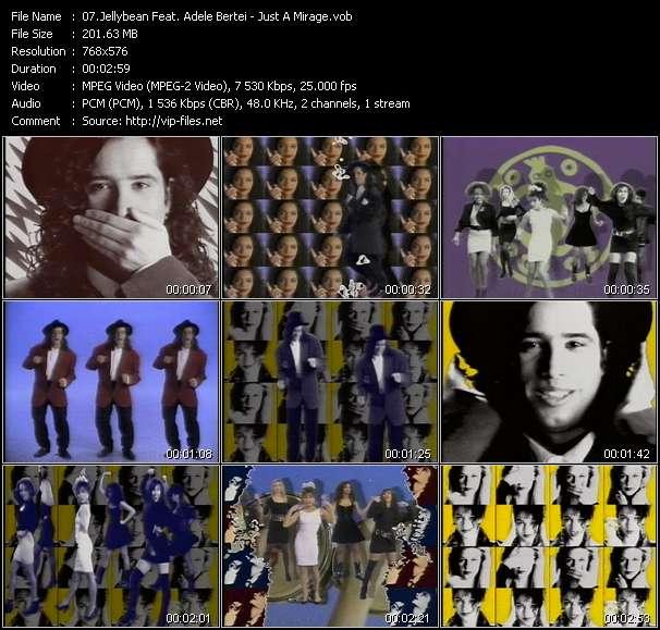 Screenshot of Music Video Jellybean Feat. Adele Bertei - Just A Mirage