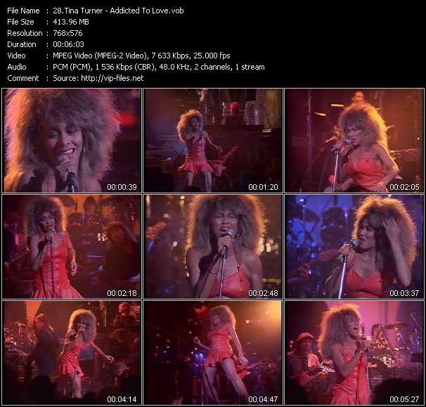 Screenshot of Music Video Tina Turner - Addicted To Love