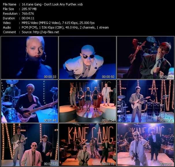 Kane Gang video vob
