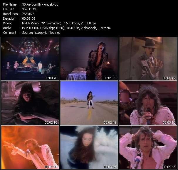 Screenshot of Music Video Aerosmith - Angel