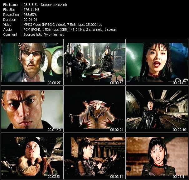 Screenshot of Music Video B.B.E. - Deeper Love